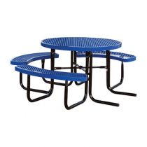 (ADA - 1 Chair) SuperSaver™ Commercial Round Picnic Table