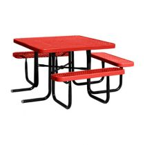 The City™ Series Square ADA Picnic Tables