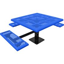 Comfort Series™ Square Pedestal ADA Picnic Tables