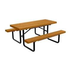 BarcoBoard™ Steel Frame Picnic Tables
